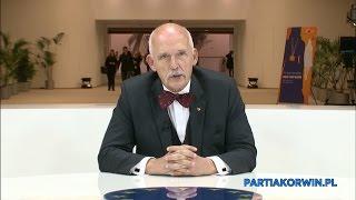 Janusz Korwin-Mikke o zamachu terrorystycznym we Francji
