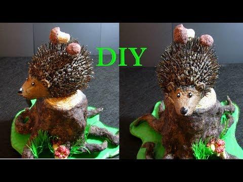 How to Make a Hedgehog | Как Сделать Ёжика