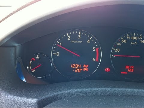 Nissan Pathfinder 2.5TD запуск двигателя в мороз