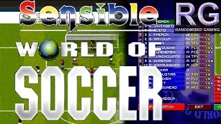 Sensible World of Soccer - Xbox 360 - Match Gameplay England versus Iceland [4K60]