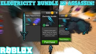 Buying Electricity Bundle *Roblox Assassin*
