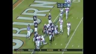 2005 Iron Bowl Auburn vs. Alabama