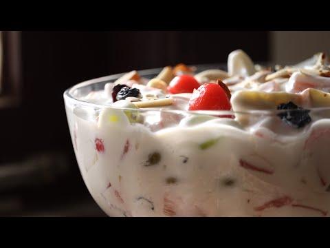 Fruit cream dessert recipe fruit cream salad recipe