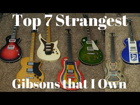 Top 7 Strangest Gibson Guitars That I Currently Own | Collection Video