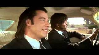 Quarter Pounder with cheese in Pulp Fiction scene