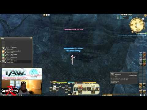 So You Think You Can Gather Episode 9 FFXIV Level 50 Crystal Gathering