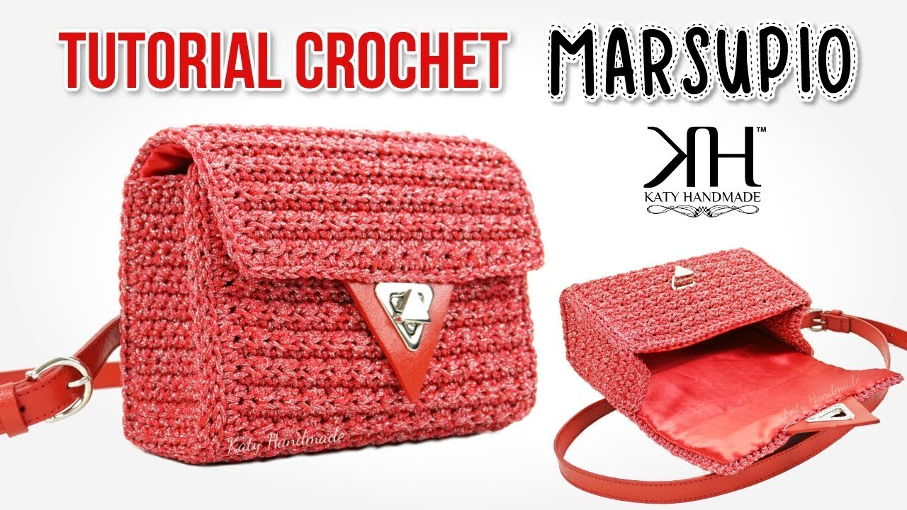 Tutorial Borse Uncinetto Marsupio Dolce Crochet Katy Handmade