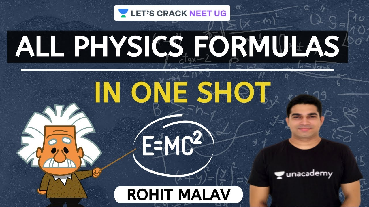 All Physics Formulas in One Shot | 3-Hour Marathon | NEET Physics | NEET UG