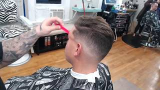 how to zero mid fade haircut
