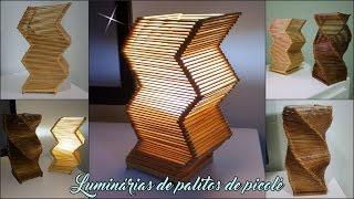 Luminarias feitas com palitos de picolé - Passo a passo! thumbnail