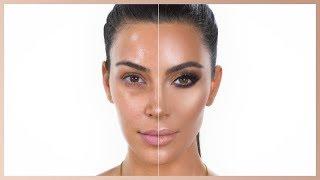 Power Of Makeup: Kim Kardashian West   Nikkietutorials