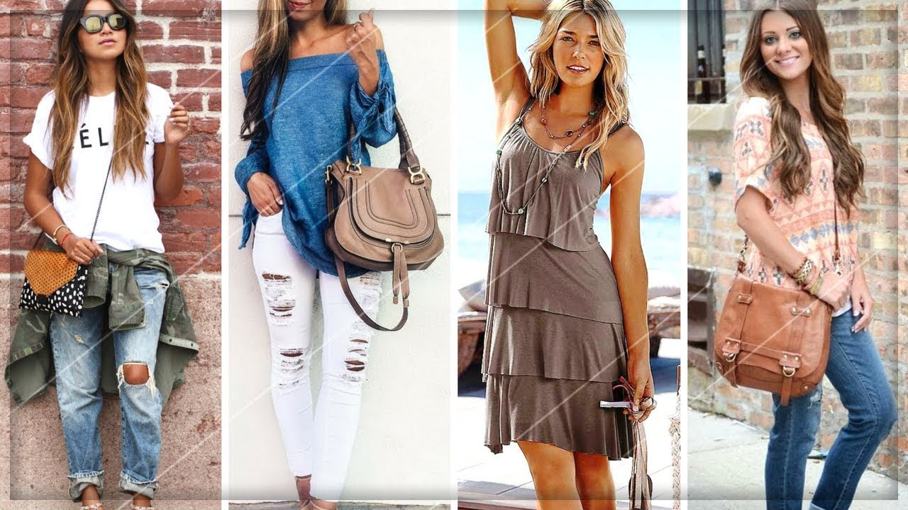 Fashion Casual style for summerspring pictures video