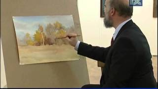 Мастер-класс художника Сергея Андрияки в Вологодской областной картинной галерее