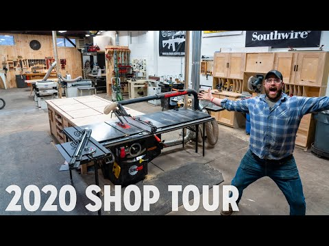 2020 Professional Woodworkers Shop Tour