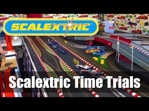 Scalextric Time Trials – Large Super Cool Rally Style Track