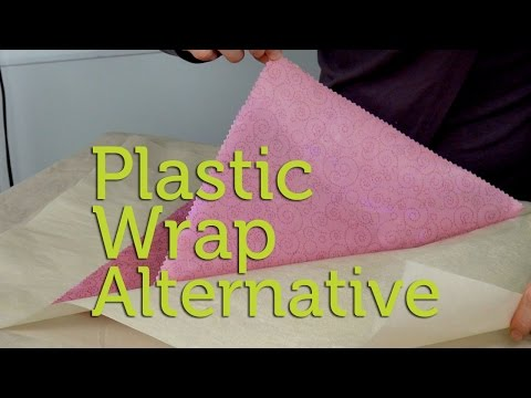 How to Make a Natural Alternative to Plastic Wrap | DIY Waxed Cotton Wrappers