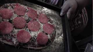 Live Video Of How I Made That Big Pizza For Under 10 Carbs!