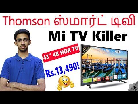 "Thomson Smart TV s-Better than Mi TVs? | 43 Inch 4K, 41"" Full HD, 32 Inch HD | Tamil | Tech Satire"