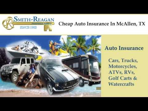 Cheap Auto Insurance In McAllen, TX
