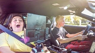 KIDS REACT TO 1000HP GTR LAUNCH!