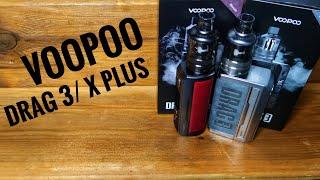 VOOPOO Drag 3/ Dŗag X Plus Turkce Inceleme