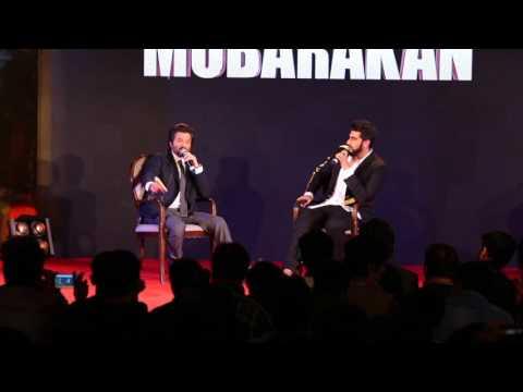 Anil Kapoor LOVED Working With Pawan Malhotra  Mubarakan Sangeet Event