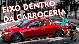 [LOW VLOG] SAVEIRO NA FIXA COM EIXO DENTRO DA CARROCERIA + MENSAGEM MOTIVACIONAL