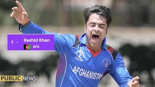 Afghanistan's Rashid Khan becomes top all-rounder in ICC ODI ranking | Public News