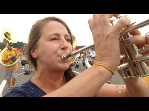 52-year old still in university marching band