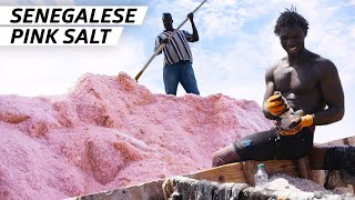 How 60,000 Metric Tons of Salt Are Harvested from One of the World's Saltiest Lakes  - Handmade
