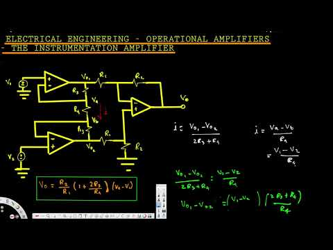 Electrical Engineering : Operational Amp : The Instrumentation Amplifier