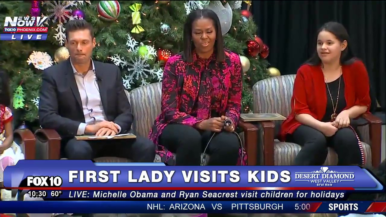 'Mondays With Michelle Obama' Joins the Children's Story Time ...