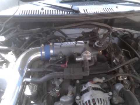 my 04 mustang gt with bbk cold air intake and bbk 78 mm throttle intake