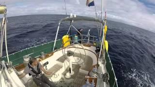 El Galante sails from Puerto de Vueltas, La Gomera to Puerto de Restinga, El Hierro