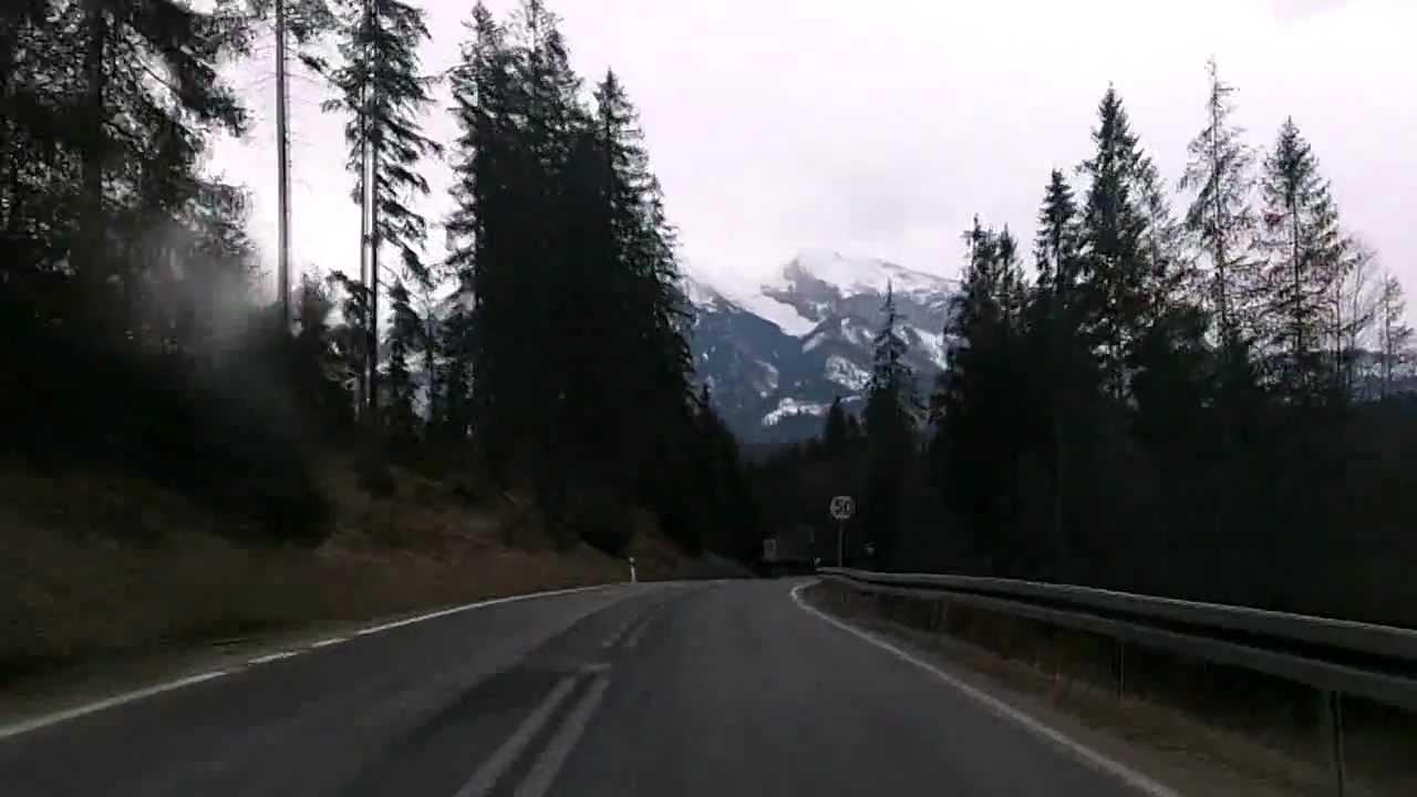 Poland: Road 49, Nowy Targ to Slovakian border