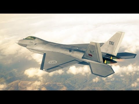 TURKISH TFX - Air Dogfight / Flight Demo! IS The world Ready?