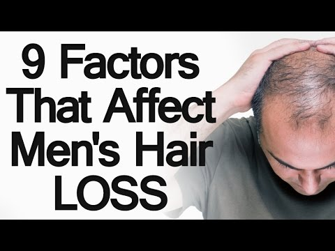9 Factors that Affect Male Hair Loss   6 Ways to Prevent Losing Hair or Balding   Stop Going Bald