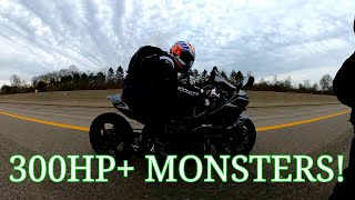 NINJA H2 BATTLE ROYAL! 4 H2'S GOING ALL OUT!