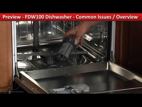 Common Repair & Diagnostic  Issues Overview -  Viking Dishwasher