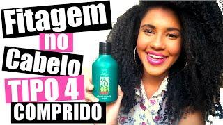 Download lagu Fitagem no Cabelo Crespo Tipo 4 Comprido com Ativador de Cachos Zero Poo (Clorofitum)