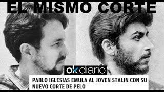 """¡OK DIARIO DESVELA EL INTENTO DE IGLESIAS DE """"EMULAR"""" AL JOVEN STALIN!"""