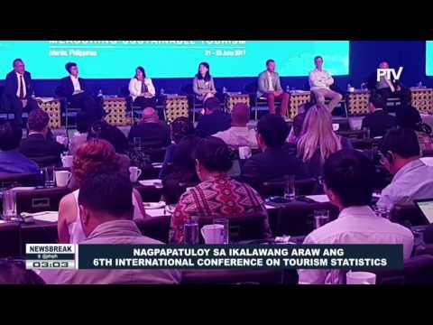 NEWS BREAK: Nagpapatuloy sa ikalawang araw ang 6th International Conference on Tourism Statistics