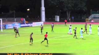 ALB-S 2013 S.League 23rd Leg vs. Tanjong Pagar United FC 24th/Sep