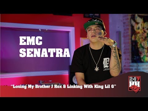 EMC Senatra - Losing My Brother J Rox & Linking With King Lil G (247HH Exclusive)