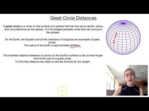 Great Circle Distances