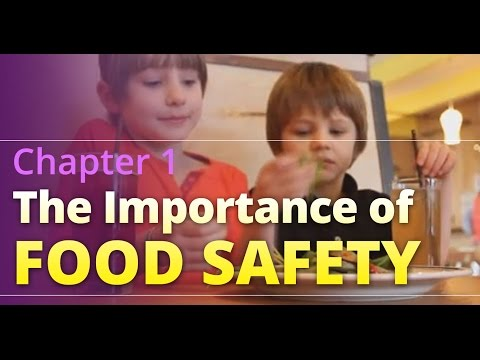 """Basic Food Safety for Oregon: Chapter 1 """"The Importance of Food Safety"""" (English)"""
