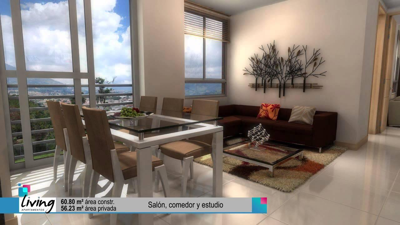 Living fachada y apartamentos youtube for Fachadas apartamentos modernos