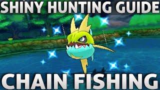 Pokemon ORAS: Shiny Hunting Guide | Chain Fishing (Omega Ruby Alpha Sapphire)