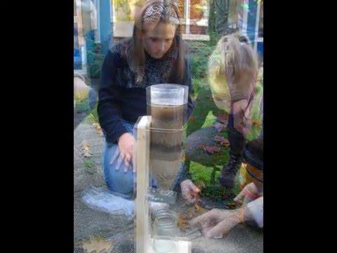 Proef waterzuivering