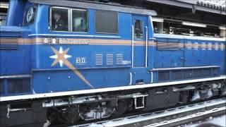 運行終了まで1ヶ月あまり 寝台特急カシオペア(E26)の札幌駅入線~発車 ...